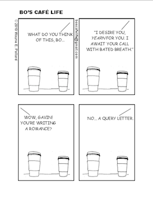 Query Letter Cartoon